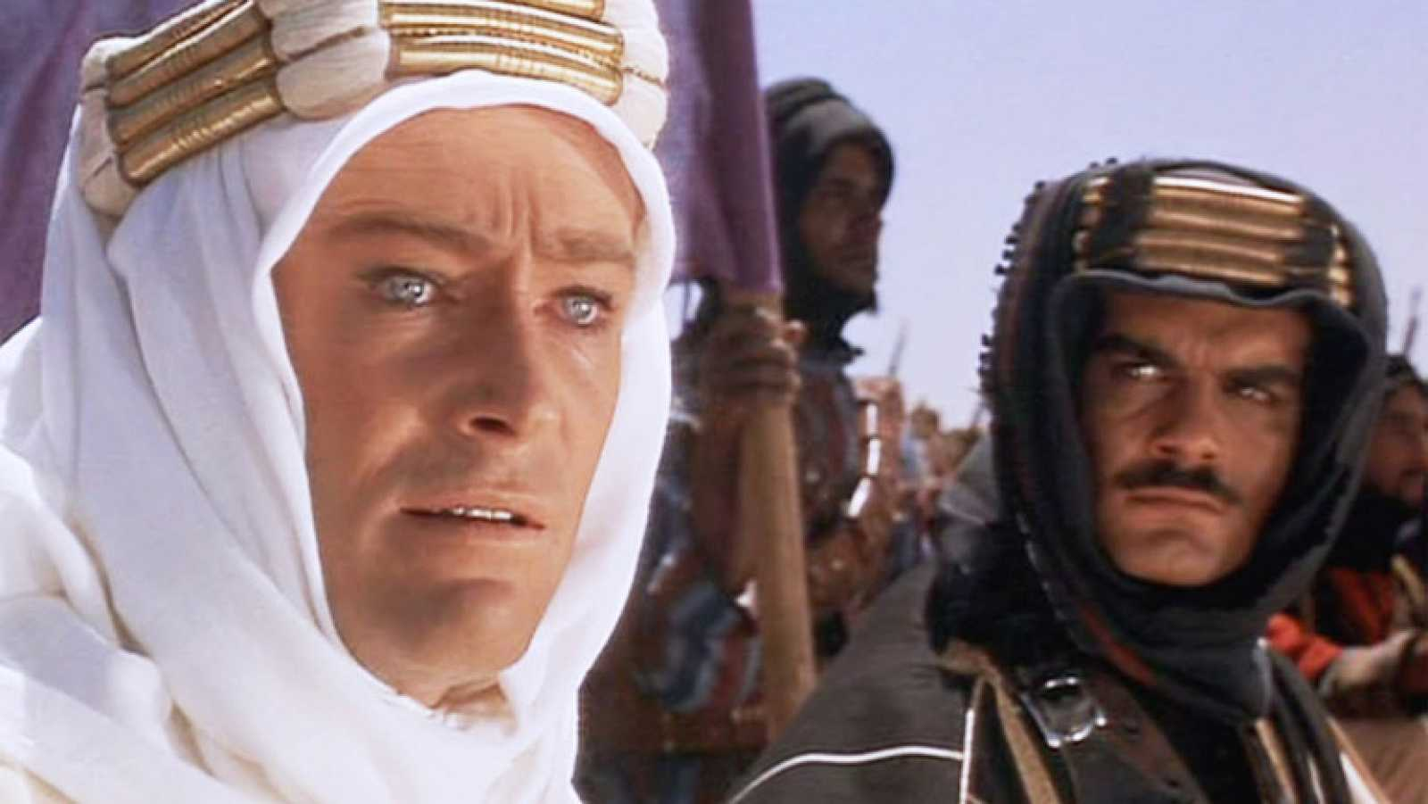 Escena de Lawrence de Arabia