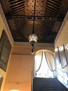 Farol de techo Góngora en el Palacio de las Dueñas
