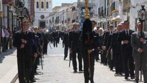 Farol San Luis en la Hermandad de la Santa Caridad de Marchena