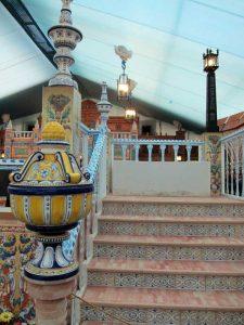 Faroles de estilo sevillano para la Feria